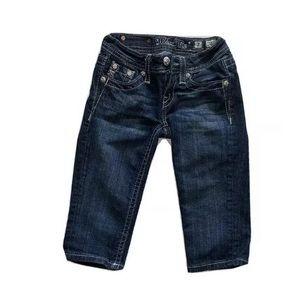 Miss Me Jeans Bermuda Shorts Girls Size 7
